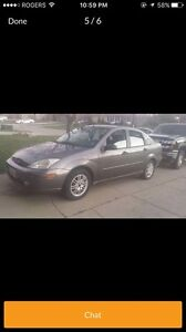 2002 Ford Focus SE 4 door