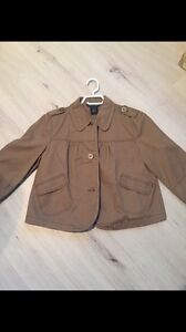 Crop Jacket (M) never worn