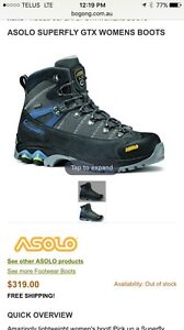 Asolo gtx women's hiking boots size 7