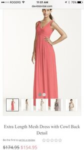 Coral Reef Long Formal Dress Size 2 Kitchener / Waterloo Kitchener Area image 2