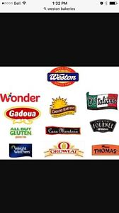 Weston/wonder bread route business for sale