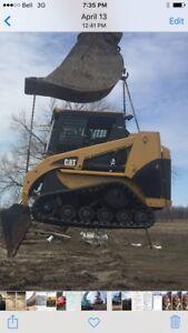 Cat skid steer wanted