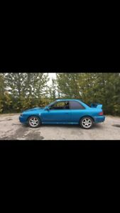 2000 Subaru Impreza Rs coupe