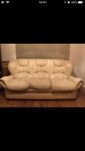Italian imported couch sofa  and armchair