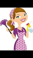 Cleaning Lady Available!!!