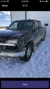 2003 chevy 1/2 ton gfx package