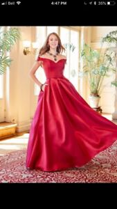 Brand new prom mikado ballgown: Clarisse  Size: 2