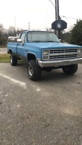 Looking for 1987 square body truck parts