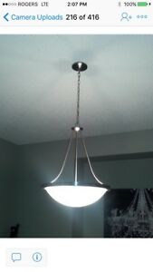 Hanging dome light $30