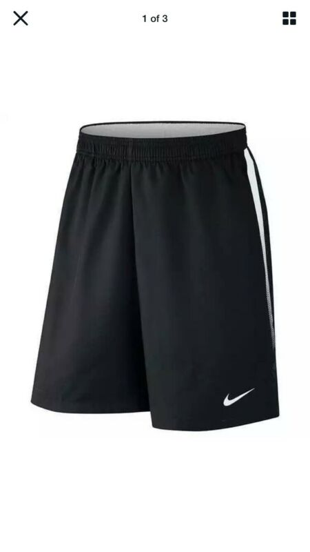 NIKE Court Tennis  Dry 9 Inch Tennis Shorts Black 830821-010 Men's Large Nadal