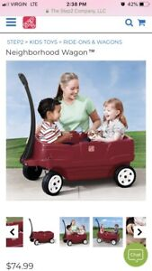 Step 2 wagon-with belts