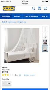 Ikea bed netting