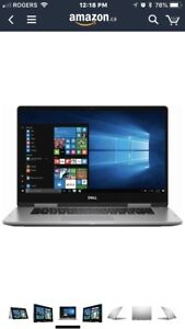 """Dell Inspiron 15 7000 15.6"""" 2 in 1 FHD Touchscreen Laptop  $1100"""