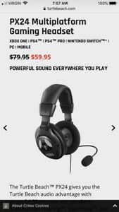 Gaming Headset Works With ALL Platforms!