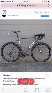 Custom Condor Super Acciaio Steel bike