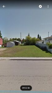 Vacant residential lot in Thorhild