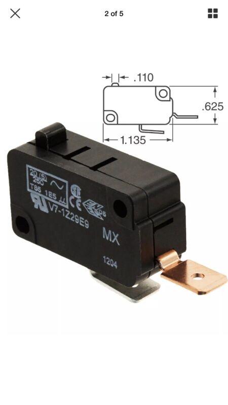 Honeywell Basic / Snap Action Switch 25A @ 250VAC (1 piece) V7-1Z29E9