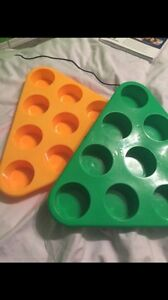 Beer pong cup holders