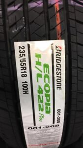 4 new Bridgestone Ecopias 235/55R18