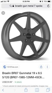19 inch wheels and tires
