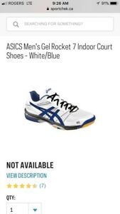 Asics Court Shoes (Tennis/Squash)