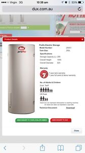 Dux ProFlo electric hot water system Kewarra Beach Cairns City Preview