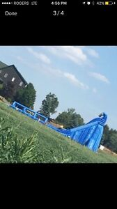 36' Inflatable water slide