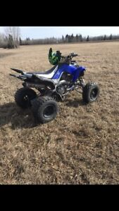 2009 raptor 700 and 2015 kx450f trade for Chevy truck