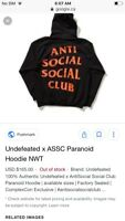 AntiSocialSocialClub WindBreaker Limited Edition