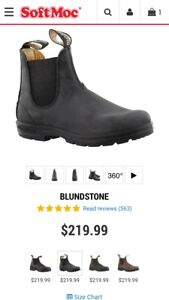 Women's Blundstone size 4.5 or (7 Canadian sizing)