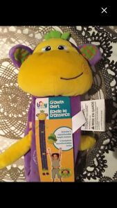 Adorable monkey growth chart New