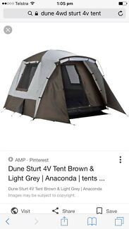 Dune 4wd sturt 4v tent  sc 1 st  Gumtree & anaconda in Croydon 3136 VIC | Gumtree Australia Free Local ...