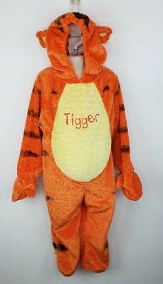 Disney Store Tigger Costume Childs XS Full Body Hooded Winnie the Pooh Halloween ()