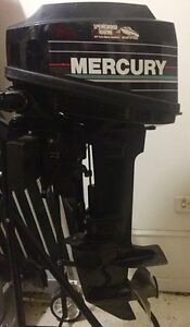 6 HP outboard Mercury Margate Redcliffe Area Preview
