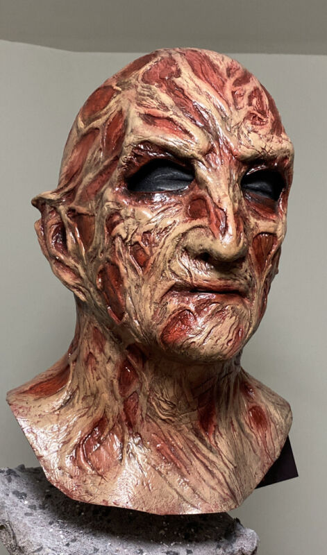 Freddy Dream Master Mask Rehauled Custom Halloween Mask Jason Myers Mask