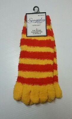 New Snugadoo Too Halloween Toe Socks Girls size 4-6 Super Soft (DW1A3)