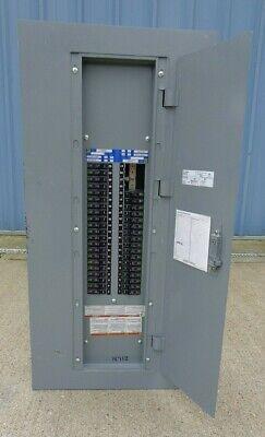 Square D 225 Amp Main Lug Panelboard 208y120 Vac 42 Circuit 3 Phase E3 Series