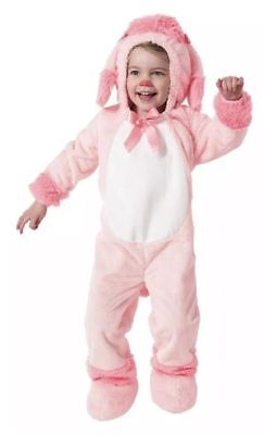 New Size 18-24 Month Adorable Pink Poodle Soft Plush Halloween Costume  (18-24 Month Halloween Costumes)