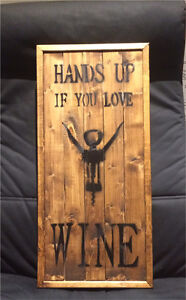 Handcrafted Wood Sign Peterborough Peterborough Area image 2