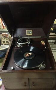 Vintage gramophone His masters voice 1930s works great Berkshire Park Penrith Area Preview