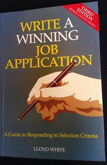 write a winning job application by lloyd white fifth edition