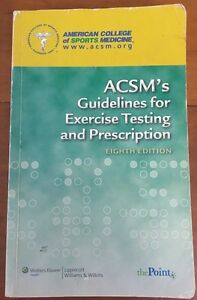 ACSM's Guidelines for Exercise Testing and Prescription Coorparoo Brisbane South East Preview