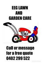 EEG LAWN AND GARDEN CARE Botany Botany Bay Area Preview