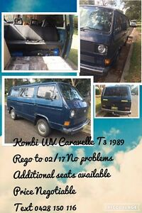 Kombi Caravelle T3 1987 Manly Manly Area Preview