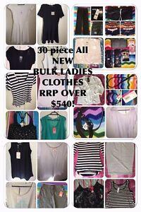 30 BULK LADIES CLOTHES DRESS TOP SKIRT PANT JEAN sz 12 14 NEW RRP$540+ Morphett Vale Morphett Vale Area Preview
