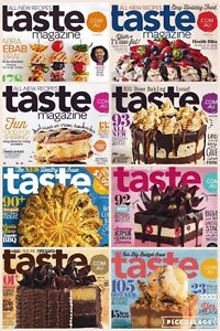 WANTED: Taste magazines (as pictured) Redbank Plains Ipswich City Preview