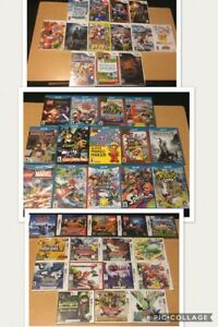 Brand new sealed Authentic Nintendo Wii & Wii U & 3DS & DS games