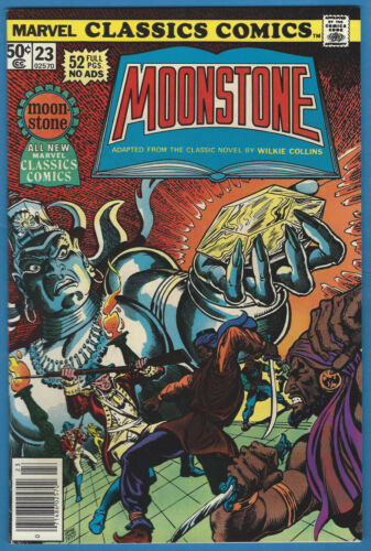 Marvel Classics Comics 23 Moonstone High Grade Wilkie Collins Ernie Chan Cover