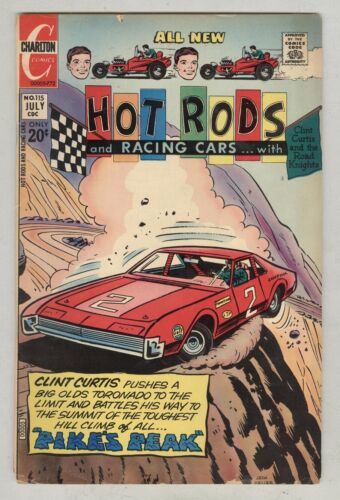Hot Rods and Racing Cars #115 July 1972 G/VG Pike's Peak