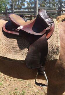 Toowoomba Sunset Drafter Saddle
